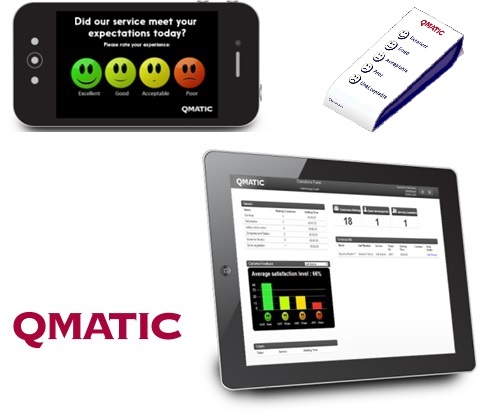 Qmatic - CUSTOMER FEEDBACK SOLUTIONS